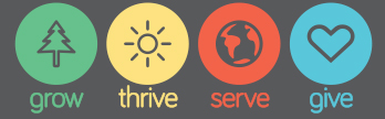 Annual Conference Theme: Grow, Thrive, Serve, Give